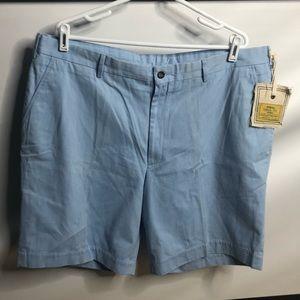 Vintage1946 shorts men blue 42 cotton classic